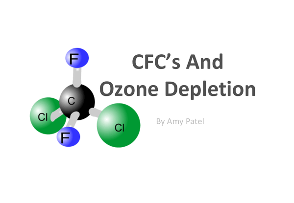 Preview of OCR AS CHEMISTRY F322 CFC MOLECULES/OZONE LAYER