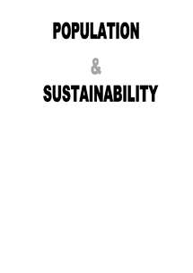 Preview of OCR F215: COMPLETE SET OF NOTES ON ECOSYSTEMS & POPULATION & SUSTAINABILITY
