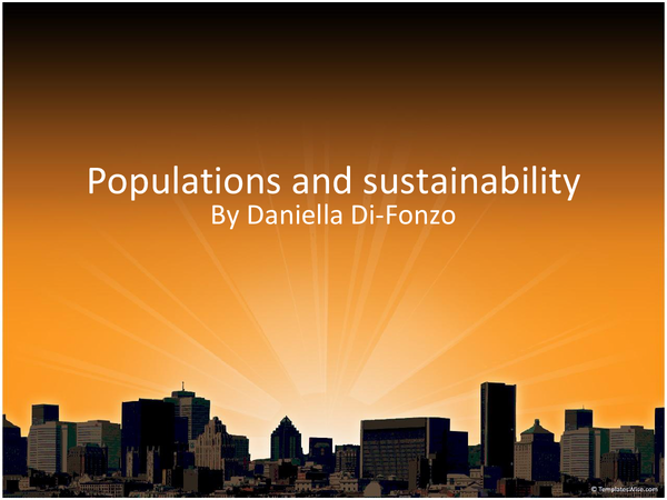 Preview of ocr f215 populations and sustainability