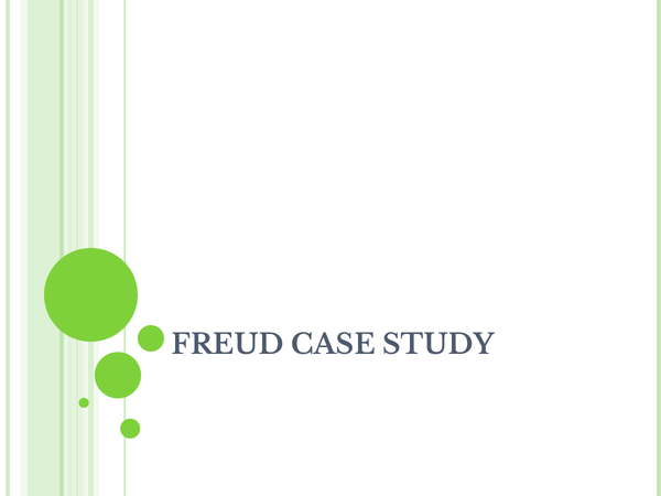 Preview of OCR - Freud Study