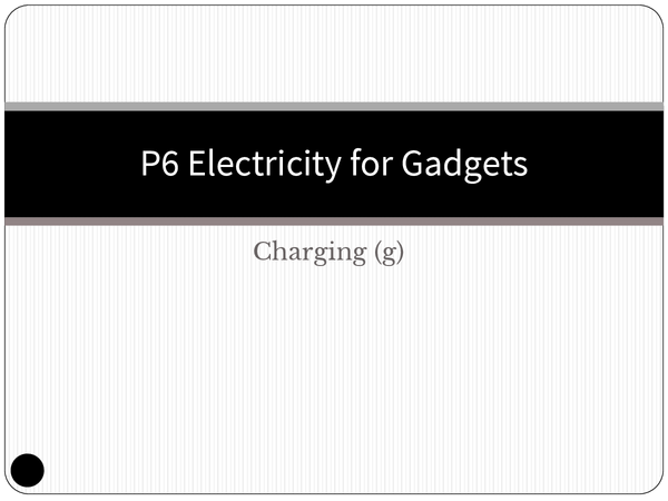 Preview of OCR Gateway P6 Charging