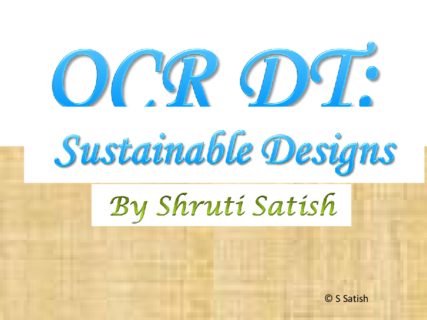 Preview of OCR GCSE GRAPHICS : Sustainable Designs Exam (All you need in one guide presentation) :)