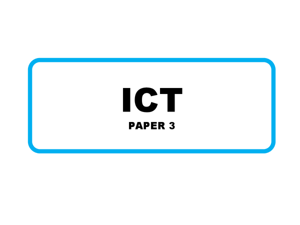 Preview of OCR GCSE Information Technology Paper 3
