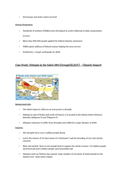 sudan case study drought State of the environment in sudan case study asim i el moghraby 4 abstract sudan is an example that projects the environmental plight of africa, south of.