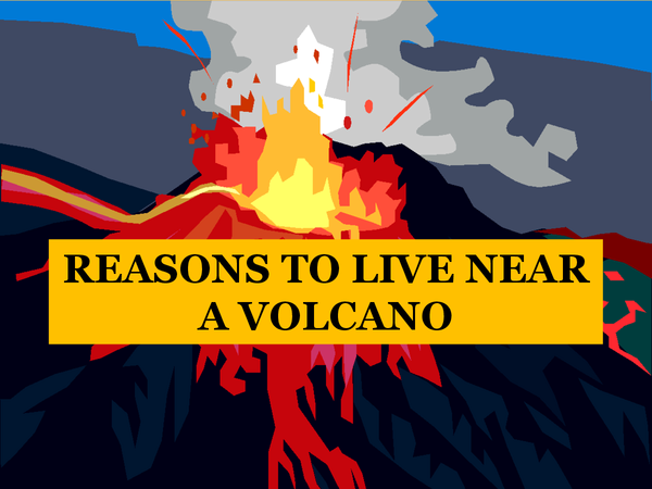 Preview of OCR Geography Spec B- Why do people live near volcanoes?
