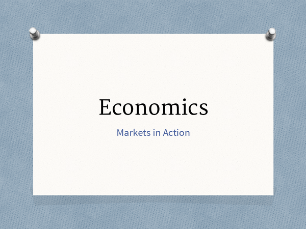 Preview of OCR Markets in Action Economics revision Presentation