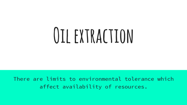 Preview of Oil extraction