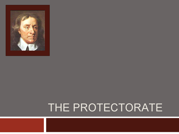 Preview of Oliver Cromwells Protectorate 1653-58