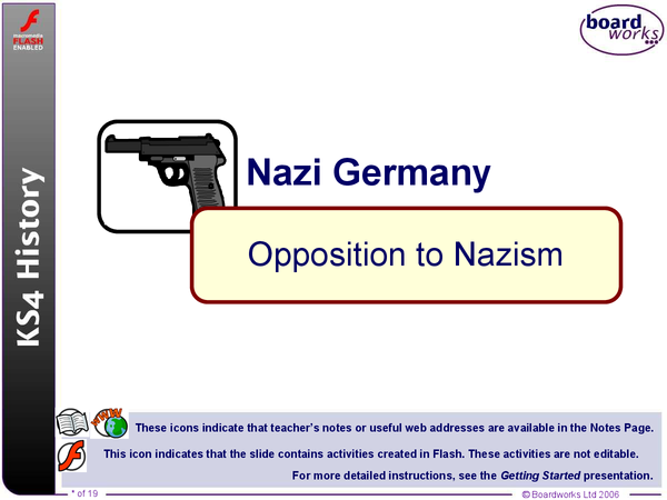 Preview of Opposition to Nazism