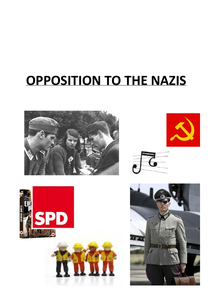 Preview of Opposition to the Nazis