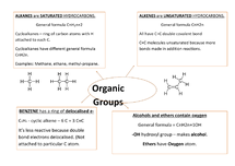 Preview of Organic groups