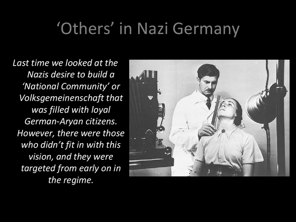 Preview of Others in Nazi Germany