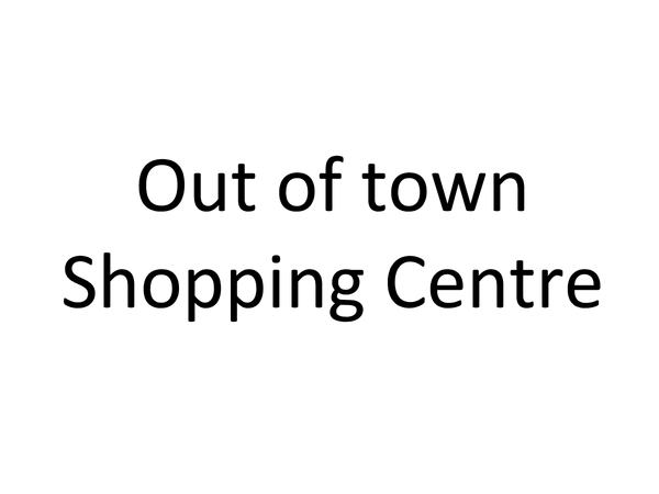 Preview of Out of town retailing, Meadowhall
