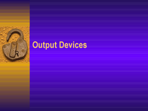 Preview of Output