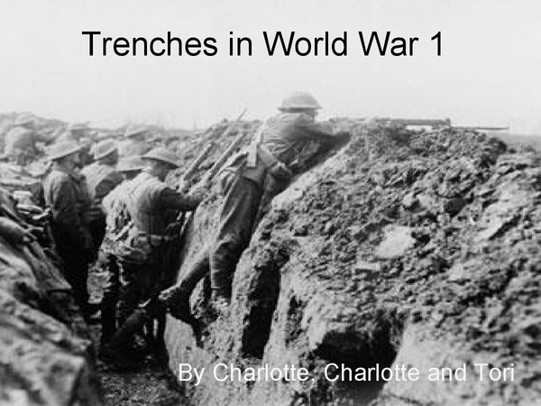 Preview of Overview of English Literature WW1 Trenches