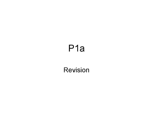 Preview of P1a