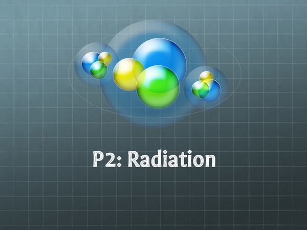 Preview of P2 Radioactivity
