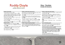 Preview of Paddy Clarke Ha Ha Ha - Key Quotes