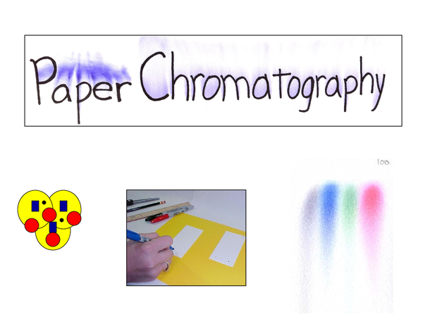 Preview of Paper Chromatography