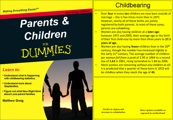 Preview of Parents and Children - for dummies
