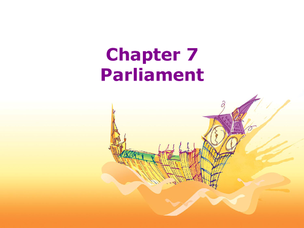 Preview of Parliament
