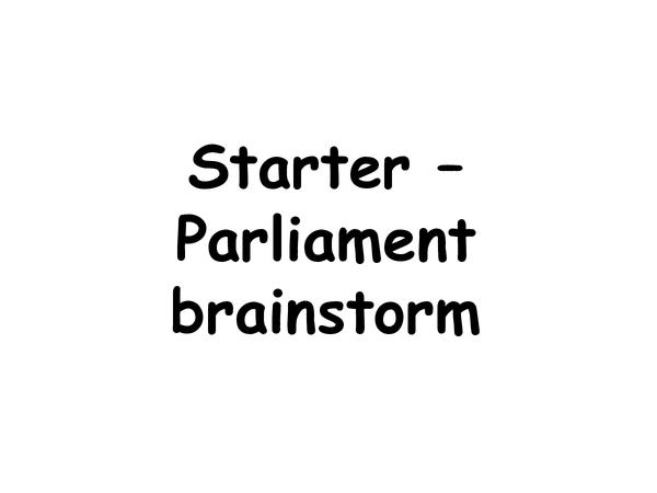 Preview of PARLIAMENT - WHAT IT IS
