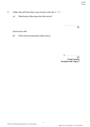 maths terminal papers