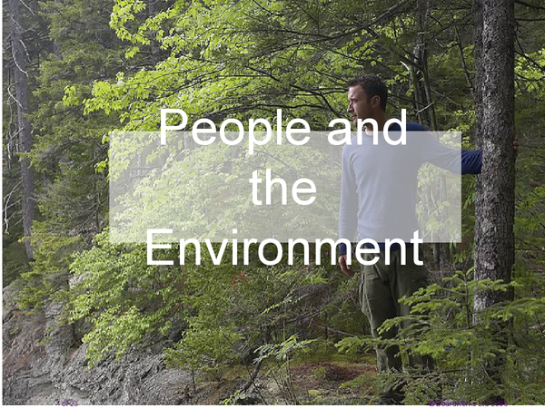 Preview of People and the environment