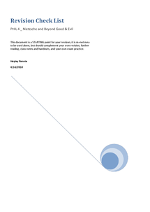 Preview of PHIL 3 revision booklet