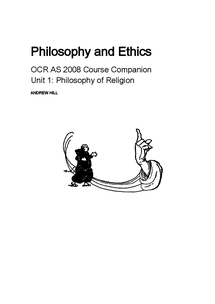Preview of Philosophy of Religion