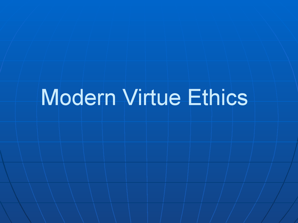 Preview of Philosophy Unit 3 Virtue Ethics