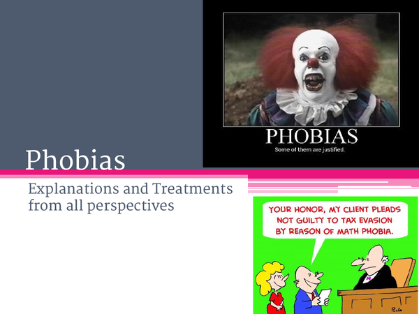 Preview of Phobias
