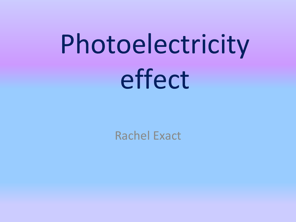 Preview of Photoelectric effect animation