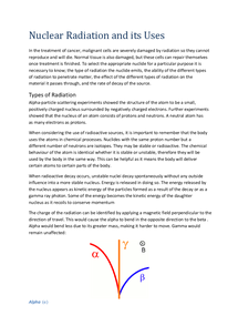 Preview of PHYB5 - Nuclear Radiation and it's Uses