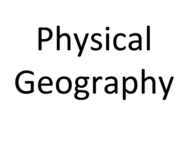 Preview of Physical Geography
