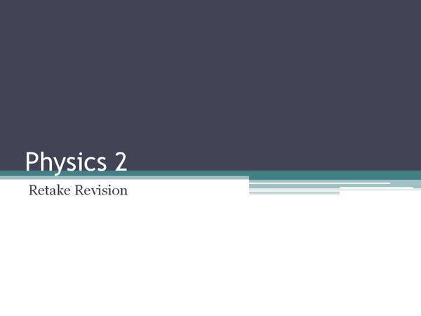 Preview of Physics 2 - AQA