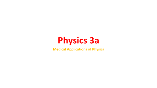 Preview of Physics 3a