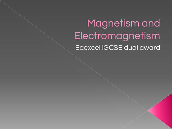 Preview of Physics - (electro)magnetism