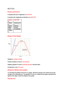 Preview of Physics forces and motion AQA additional science (Yr9)