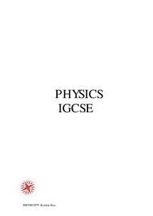 Preview of Physics IGCSE CIE full syllabus notes