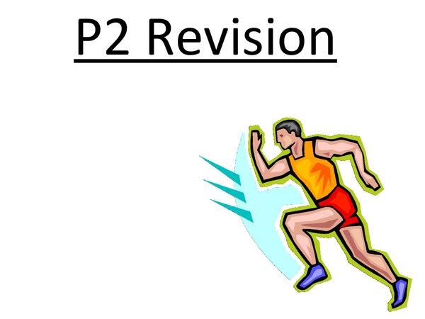 Preview of Physics P2 Revision - Edexcel