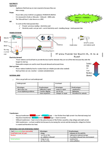 Preview of Physics GCSE unit 1 higher tier