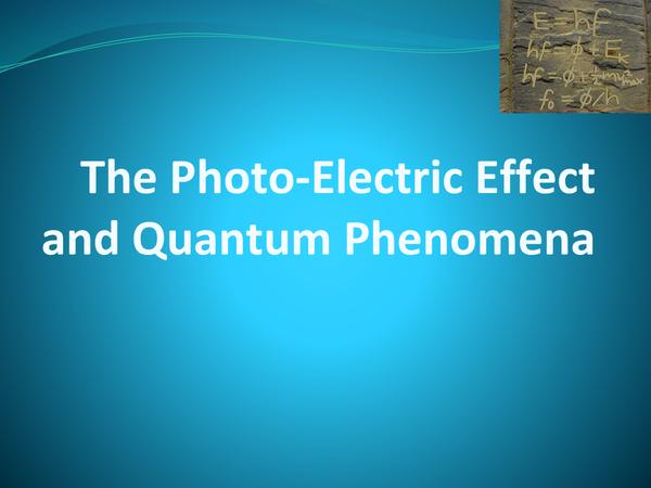 Preview of PHYSICS UNIT 1: QUANTUM PHENOMENA