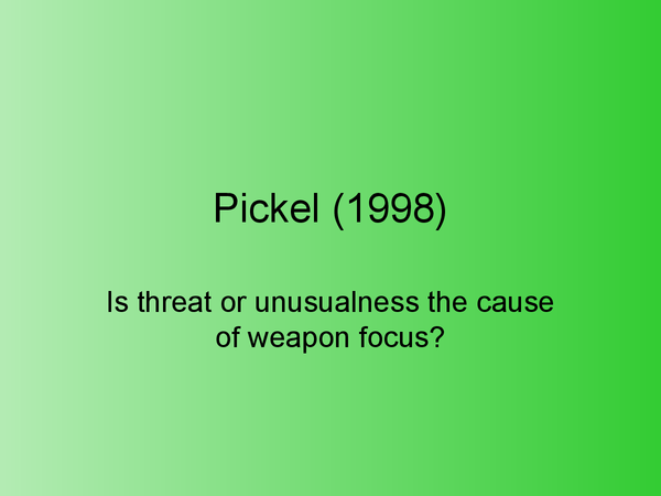 Preview of Pickel 1998