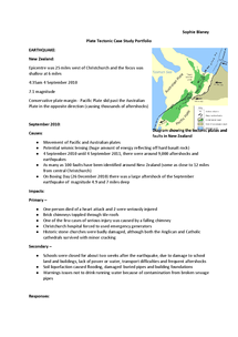 Preview of Plate Tectonic Case Studies (21 page information booklet)