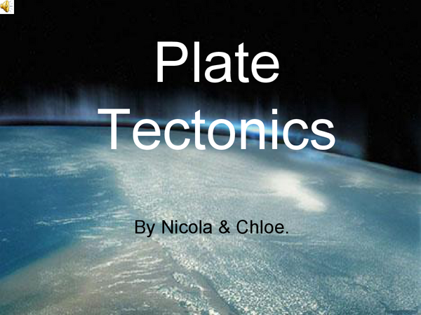 Preview of Plate Techtonics