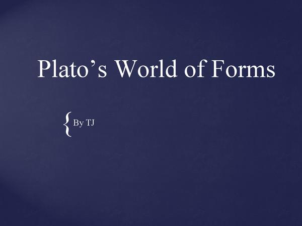 Preview of Plato in Dorian Gray