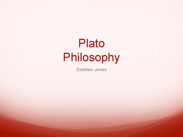 Preview of Plato's Allegory of the Cave