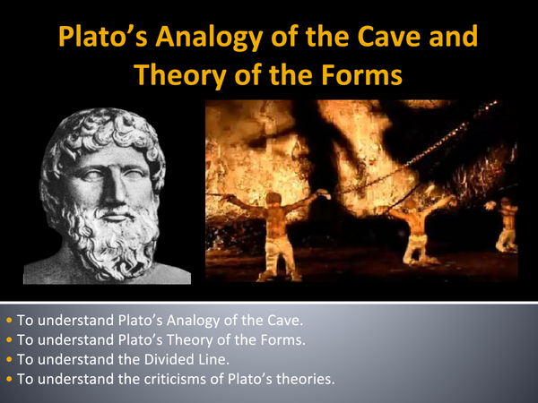 Preview of Plato's Analogy of the Cave and Theory of the Forms