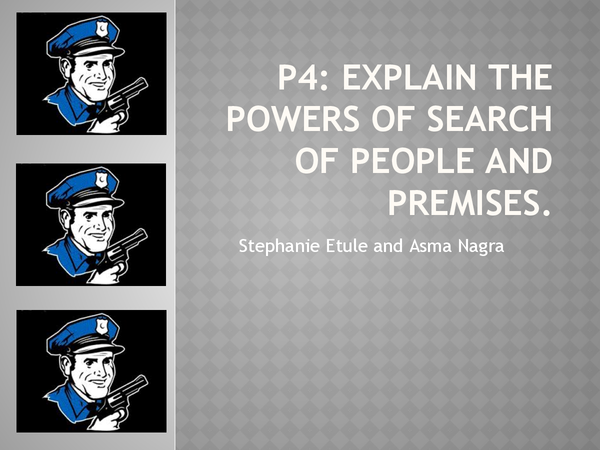Preview of Police power 2